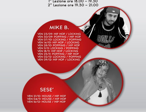 Technic Friday 30 settembre: Michael Branca -> Popping/Hip Hop