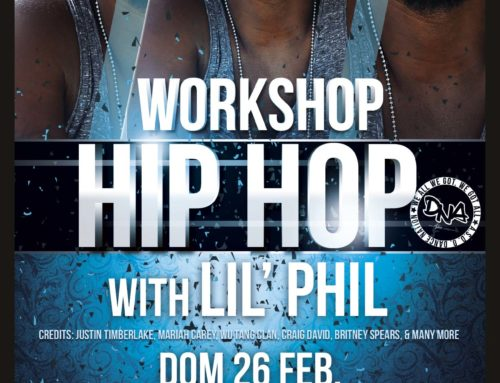 Lil'Phil : 2 workshops presso Dance Nation, domenica 26 febbraio