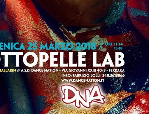 Sottopelle Lab_Ferrara: Domenica 25 marzo. Workshop di scrittura creativa con il corpo, una luminosa miscela di teatro, danza e strumenti di coaching.