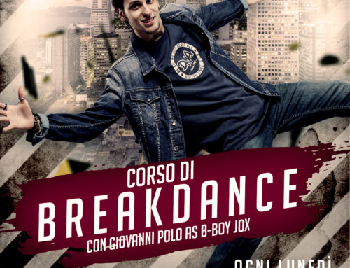 Corso di Break Dance con b-boy Jox